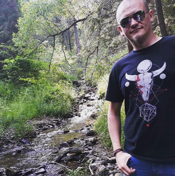 Kontakt z naturą - autor bloga nad Czarnym Potokiem