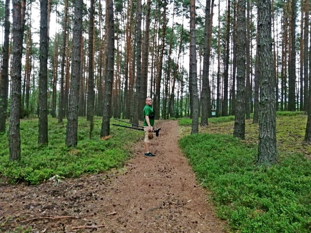 Wyprawa do rezerwatu Imielty Ług w Lasach Janowskich