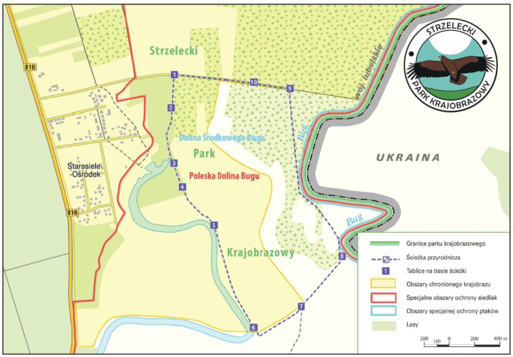 ścieżka przyrodniczo-dydaktyczna Starorzecze Bugu - Strzelecki Park Krajobrazowy